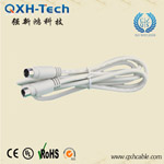High Quality Mini Din 8P M to Mini Din 8P M cable