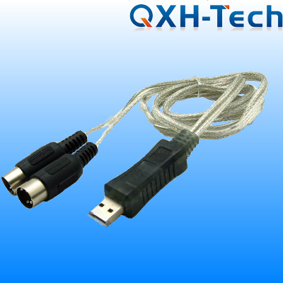 USB to 2 mini din cable